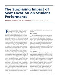 The Surprising Impact of Seat Location on Student Performance