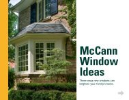 Three ways new windows can brighten your family's home.
