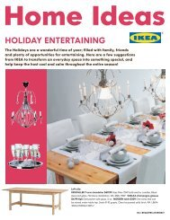 Tips on Holiday Entertaining - IKEA store