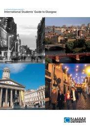 International Students' Guide to Glasgow - Glasgow Caledonian ...