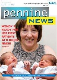Pennine News 83 - June 2010 - Pennine Acute Hospitals NHS Trust