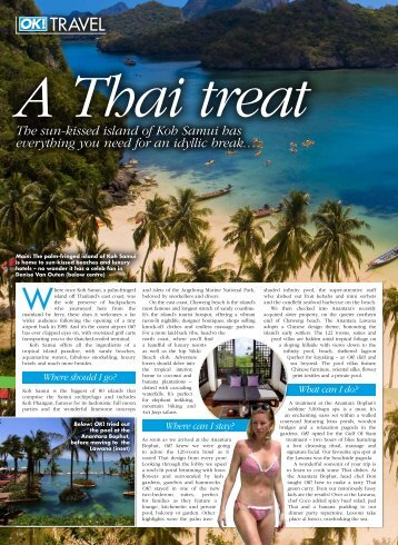 OK! Magazine UK A Thai treat (09 Jun - Anantara