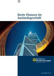Beste Chancen im Auslandsgeschäft - Raiffeisenlandesbank ...