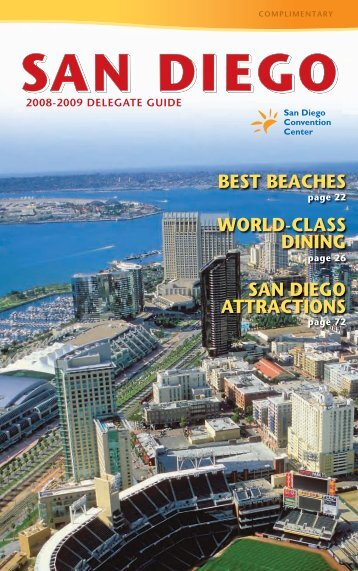2008-2009 Delegate Guide - San Diego Convention Center