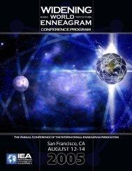 View Conference Program - International Enneagram Association