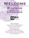 View Conference Program - International Enneagram Association - Page 3