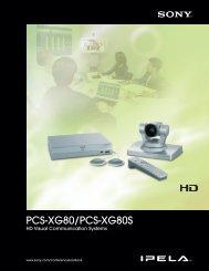 PCS-XG80/PCS-XG80S - Sony
