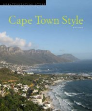 QQuintessential, Fall 2009 by Lisa Loverro (PDF) - Southern Africa ...
