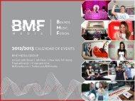 2012-2013BMFEventCal.. - BMF Media