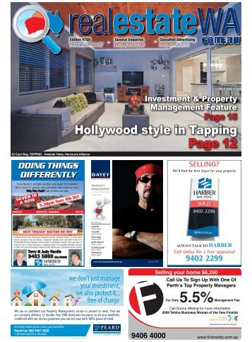 Hollywood style in Tapping Page 12 - Real Estate Western Australia
