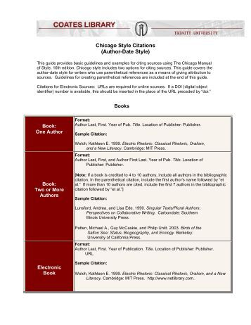 Dissertation citation chicago