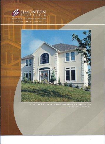 Profinish Contractors Series Brochure - Hernando Aluminum, Inc