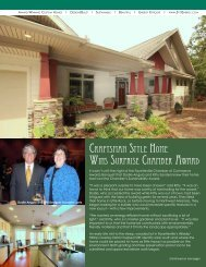 Craftsman style Home Wins surprise CHamber aWard - Stitt Energy ...