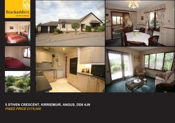 5 stiven crescent, kirriemuir, angus, dd8 4jn fixed price ... - TSPC