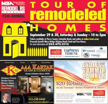 Download TNT Signature (PDF) - Tour Of Remodeled Homes