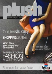 Fashion For Your Floor Magazine - Feltex Carpets