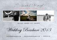 Reids Photography Wedding Brochure