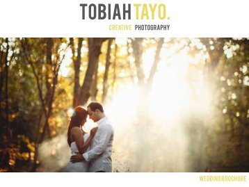 wedding brochure creative photography - Tobiah Tayo