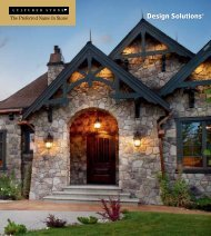 Cultured Stone® Design Solutions - Blocks and Rocks