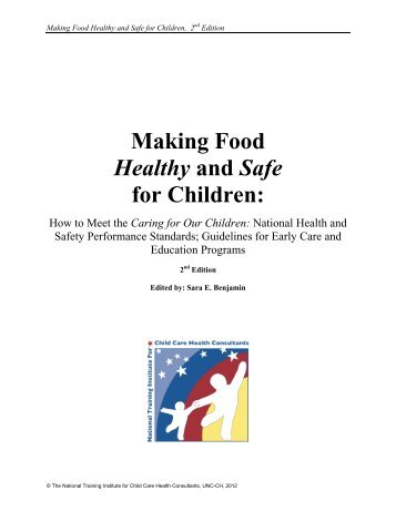 Making Food Healthy and Safe for Children - National Training ...