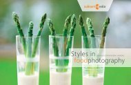 Styles in photography (3 MB) - CulinartMedia