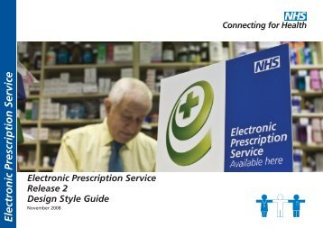 Electronic Prescription Service Release 2 design style guide - NHS ...