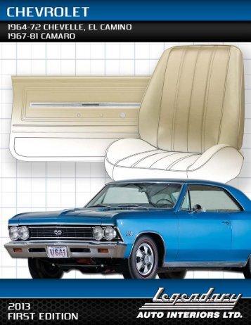 Chevrolet - Legendary Auto Interiors, Ltd.