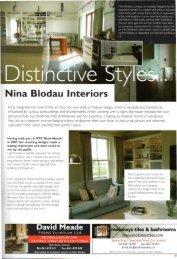 Nina Blodau Interiors - Blodauartists.com
