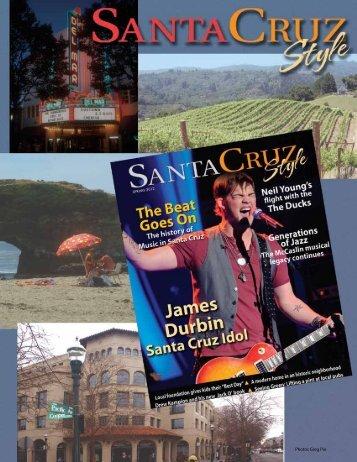 Photos Greg Pio - Santa Cruz Style Magazine