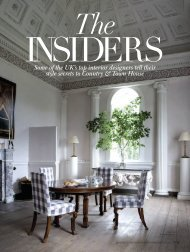 Some of the UK's top interior designers tell their style ... - Jenny Blanc