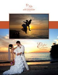 Tropical Weddings Anse Chastanet Style - Anse Chastanet Resort