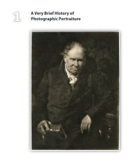 A Very Brief History of Photographic Portraiture - Rocky Nook