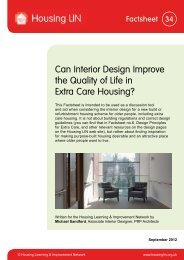 Can Interior Design Improve the Quality of Life in ... - Housing LIN