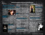 Keepsake Photography Senior Portrait Get-Ready Information