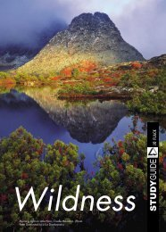 Wildness Teachers Notes - National Film and Sound Archive