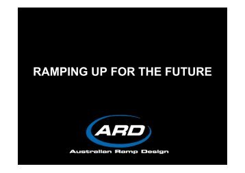 Ramping Up for the Future - Leisure