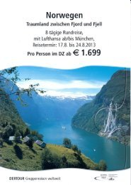 Norwegen: Traumland