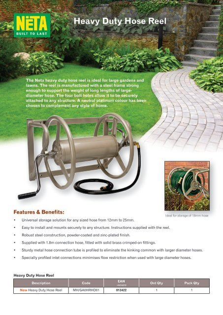 Heavy Duty Hose Reel.pdf - PPI Corporation