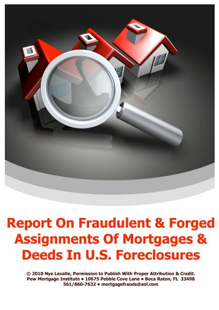 Report On Fraudulent Forged Assignments Of Msfraud Org