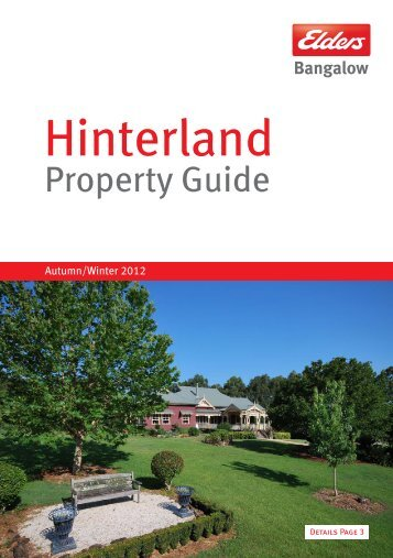 Property Guide - Elders Real Estate