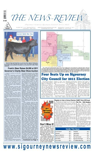 The News Review >> The News Review Sigourney News Review