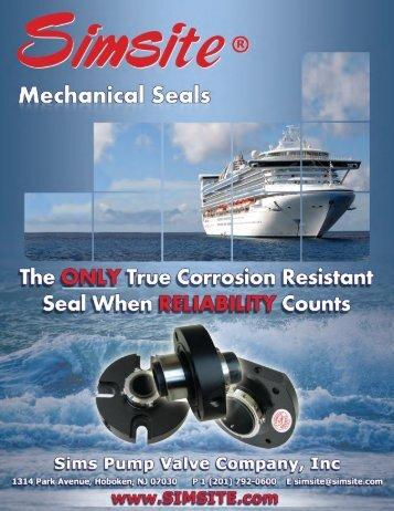 Mechanical Seals Brochure - Sims Pump Valve Co. Inc.