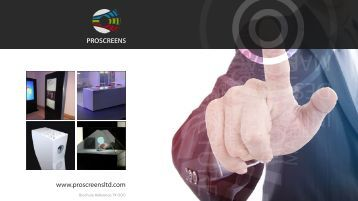 www.proscreensltd.com PROSCREENS - Projection Screens Ltd