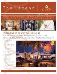 Sunday, July 3rd | 5:30pm - La Costa Resort & Spa