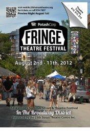 2012 Saskatoon Fringe Festival... - Star Phoenix