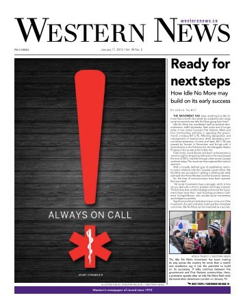 Ready for next steps - Western News - University of Western Ontario