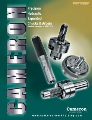 Precision Hydraulic Expanded Chucks & Arbors - Speedgrip Chuck ...