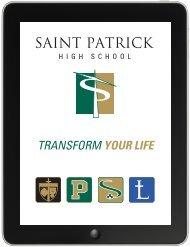 iPad Admissions Viewbook - St. Patrick High School