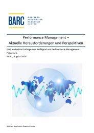 Performance Management -; Aktuelle Herausforderungen und ...