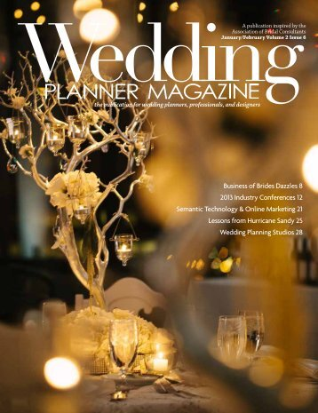 Wedding Planner Magazine 01022013